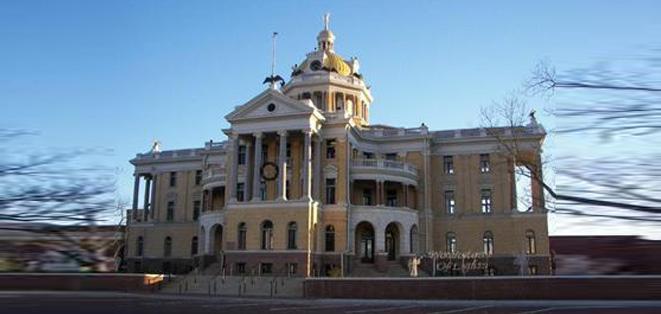 the Harrison Central Appraisal District Website